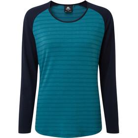 Mountain Equipment Redline Bluzka z długim rękawem Kobiety, turkusowy/niebieski